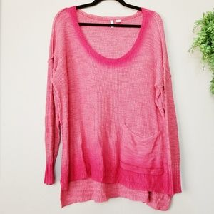 Anthropologie | Moth Uptown Ombre Tunic Sweater